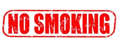 Nichtraucherweinlesestempel auf weißem Hintergrund Lizenzfreies Stockfoto