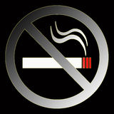 Nichtraucherzeichen vektor abbildung