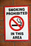 Nichtraucherzeichen Lizenzfreie Stockbilder
