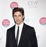Nick Adams. NEW YORK, NY - MAY 20: Actor Nick Adams attends the 2011 Cosmetic Executive Women Beauty Awards at The Waldorf-Astoria Hotel on May 20, 2011 in New royalty free stock photography