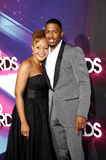 Nick Cannon and Beth Hackett. At the  2012 Halo Awards held at the Hollywood Palladium in Hollywood on November 17, 2012 Royalty Free Stock Photography