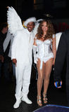 Nick Cannon and Mariah Carey Stock Image