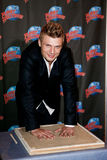 Nick Carter. NEW YORK-SEP 24: Singer Nick Carter promotes his new book 'Facing The Music: And Living To Talk About It' at Planet Hollywood Times Square on Stock Images
