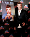 Nick Carter. NEW YORK-SEP 24: Singer Nick Carter promotes his new book 'Facing The Music: And Living To Talk About It' at Planet Hollywood Times Square on Royalty Free Stock Photo