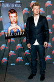Nick Carter. NEW YORK-SEP 24: Singer Nick Carter promotes his new book 'Facing The Music: And Living To Talk About It' at Planet Hollywood Times Square on Royalty Free Stock Photography