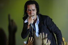 Nick Cave photographie stock