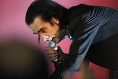 Nick Cave Royalty Free Stock Photos