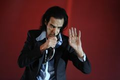 Nick Cave Stock Images