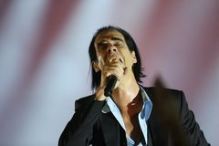 Nick Cave Stock Photo