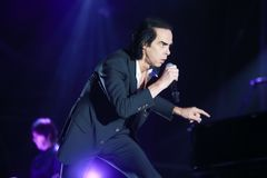 Nick Cave & The Bad Seeds stock images