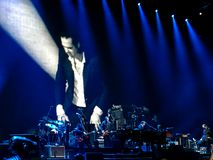 Nick Cave And The Bad-Zaden royalty-vrije stock foto