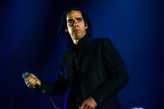 Nick Cave concert Stock Photo