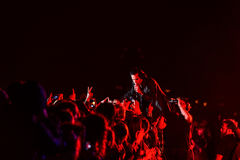 Nick Cave concert Stock Images