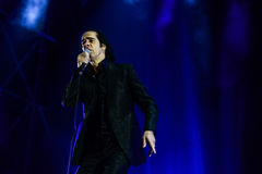 Nick Cave concert Royalty Free Stock Image