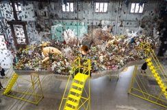 Nick Cave : Until later Carriageworks, Massachusetts museum of contemporary art and crystal bridges museum of Australia. stock photo