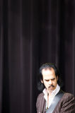 Nick Cave Performing at ATP Stock Photo