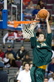 Nick Collison Warms Up Stock Image