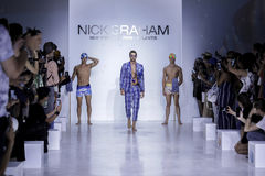 Nick Graham SS18 Photos libres de droits