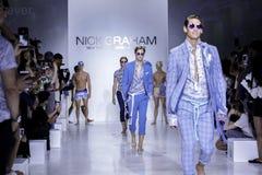 Nick Graham SS18 Photos stock