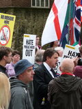 Nick Griffin Leader of the BNP Stock Photos