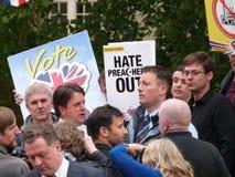 Nick Griffin-lid van het Europese Parlement Royalty-vrije Stock Foto's