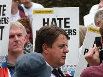 Nick Griffin (lid van het Europese Parlement) Stock Afbeelding
