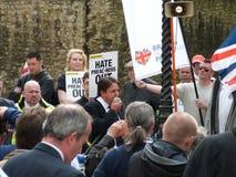 Nick Griffin (lid van het Europese Parlement) Stock Foto