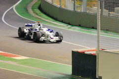 Nick Heidfeld Bmw Sauber Car In 2008 F1 Stock Image