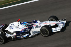 Nick Heidfeld on F1 Stock Photography