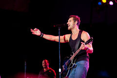 Nick Hexum of 311 in Concert Royalty Free Stock Images