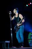 Nick Hexum of 311 in Concert Royalty Free Stock Photos