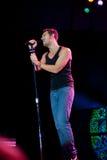 Nick Hexum de 311 en concierto Fotos de archivo