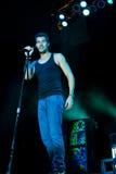Nick Hexum de 311 en concierto Imágenes de archivo libres de regalías