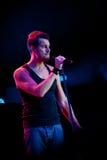 Nick Hexum de 311 en concierto Foto de archivo