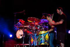 Nick Hexum and P-Nut of 311 in Concert Royalty Free Stock Images