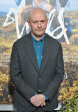 Nick Hornby. LOS ANGELES, CA - NOVEMBER 19, 2014: Screenwriter Nick Hornby at the Los Angeles premiere of  his movie Wild at the Samuel Goldwyn Theatre, Beverly Royalty Free Stock Photography