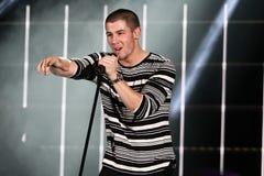 Nick Jonas Imágenes de archivo libres de regalías