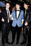 Nick Jonas, Kevin Jonas et Joe Jonas Images stock