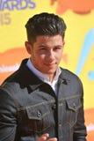 Nick Jonas. LOS ANGELES, CA - MARCH 28, 2015: Nick Jonas at the 2015 Kids Choice Awards at The Forum, Los Angeles Royalty Free Stock Photography