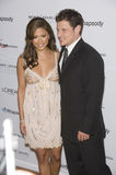 Nick Lachey,Vanessa Minnillo Royalty Free Stock Photo