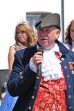 Nick Lynas, Town Crier Royalty Free Stock Photo