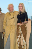 Nick Nolte,Uma Thurman. 14MAY2000: Actress UMA THURMAN with actor NICK NOLTE at the photocall for their new movie James Ivory's The Golden Bowl at the Cannes Royalty Free Stock Image