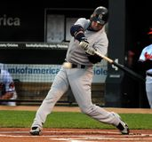 Nick Swisher, Yankees de New York Photographie stock libre de droits