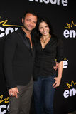 Nick Tarabay, Katrina Law Stock Images