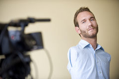 Nick Vujicic Fotos de Stock Royalty Free