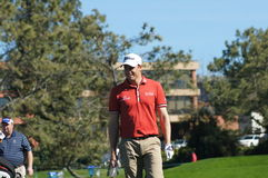 Nick Watney 2012 Farmers Insurance Open Royalty Free Stock Photo