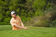 Nick Watney - Bunker Shot Stock Photos