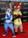Nick Wilde and Judy Hopps Stock Images