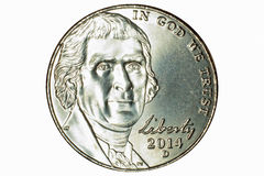 2014 Nickel Stock Photo