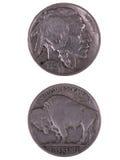Nickel 1929 de Buffalo Photo libre de droits
